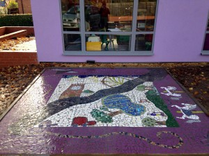 Heanor Library Community Mosaic